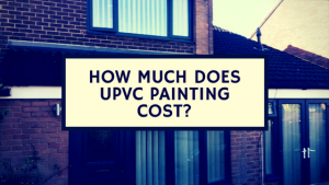 How much does upvc painting cost banner