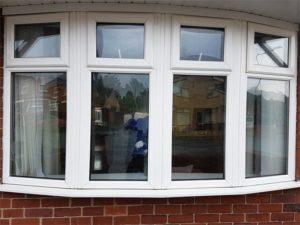 White uPVC Window Frames