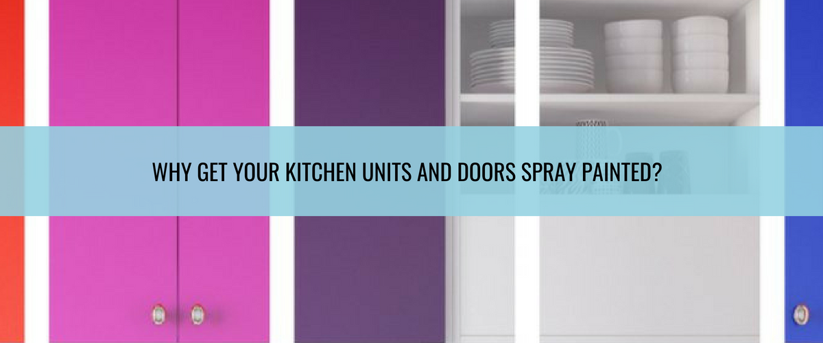 Spray Painting Kitchen Cabinets