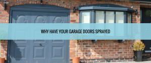 Spray Painting Garage Doors