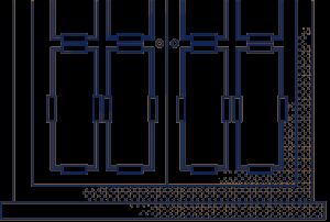 Preparing windows and doors for uPVC spraying